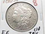 Morgan $ 1882CC EF cleaned ?PVC