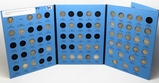 Whitman Mercury Dime Album, Total 50 Coins, dt/mm not ck, no keys
