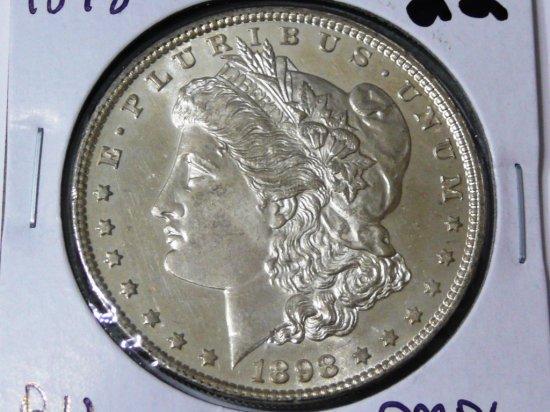 Morgan $ 1898 BU DMPL