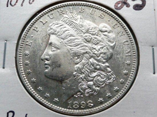 Morgan $ 1898 BU
