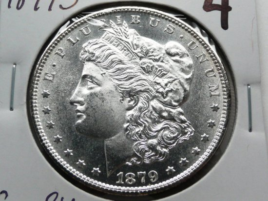 Morgan $ 1879S Gem BU