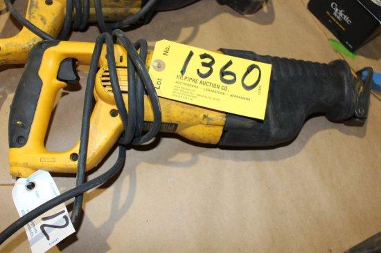 DeWalt DW311 VS reciprocal saw.
