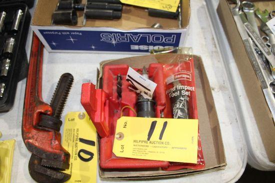 Impact tool set.