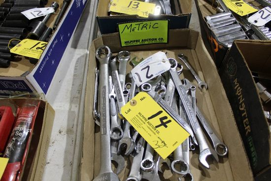 (32) Craftsman metric wrenches.