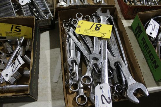 (31) Craftsman wrenches.