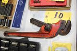 Ridgid pipe wrench, 18