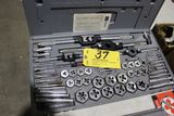 Craftsman tap and die set, 59 pieces.