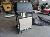 Kenmore gas grill with cover.