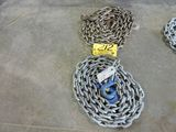 Total of 2 chains, (1) 12' chain, 5/8