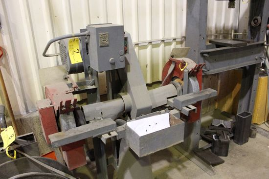 "Double spindle grinder, 12"", 5 hp, 230/460 v."