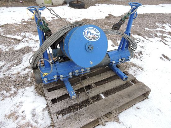 Bunyan Striker Hydraulic screed tube winch.