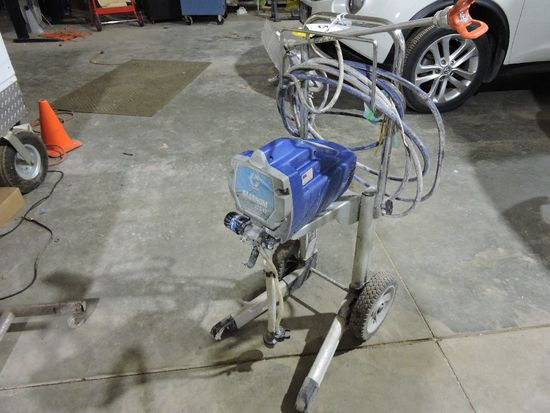 Graco Magnum paint sprayer, model LTS17, sprayer was used on one project, G