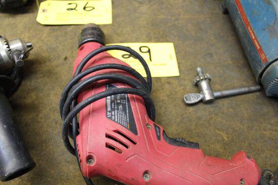 """Toolshop 1/2"""" hammer drill."""