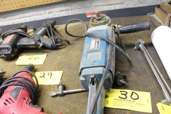 Bosch angle sander grinder.