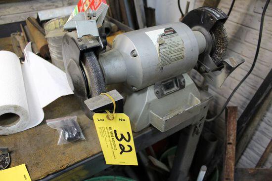 Bench grinder model 3396.