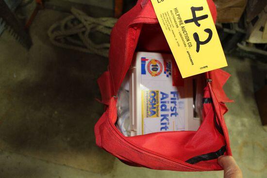 First aid bag.