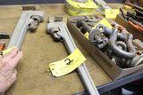 Ridgid 824 alum pipe rench, 24