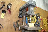 Black Hawke drill press, model DP-589, sn 78479.