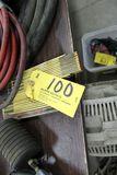 Test balls w/hose, gauges.