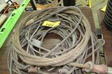 Wire rope sling, 3/8