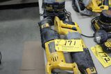 DeWalt 18 V. saws, w/ (1) battery.