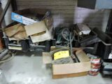 Misc. parts under bench.
