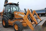 2012 Case 590 Super N tractor backhoe, sn JJGN59SNPCC568555, hrs. on meter