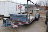 1994 Trail King forms trailer, vin 1TKU01623TM098849, 16' x 75