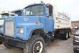 1978 Mack dump truck, vin DM685S86523, miles on odo 215,145, tandem axle, s