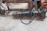 Hydraulic hammer fits Case 590.