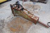 UB hydraulic hammer, small pins.