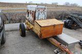 Lincoln welder generator, model SA200, on single axle trailer.