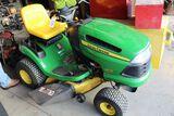 John Deere LA110 tractor.