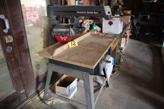 """Craftsman 10"""" radial arm saw."""