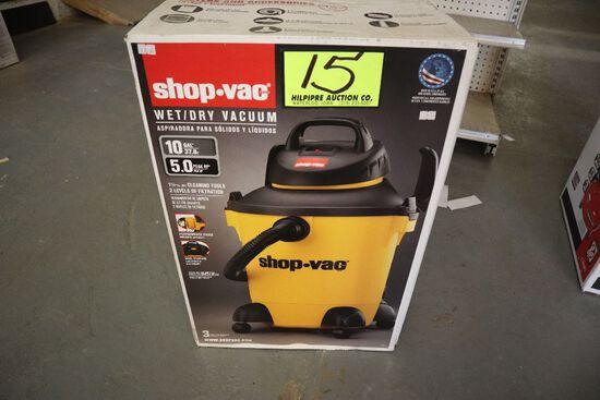 Shop vac 5 gal, New.