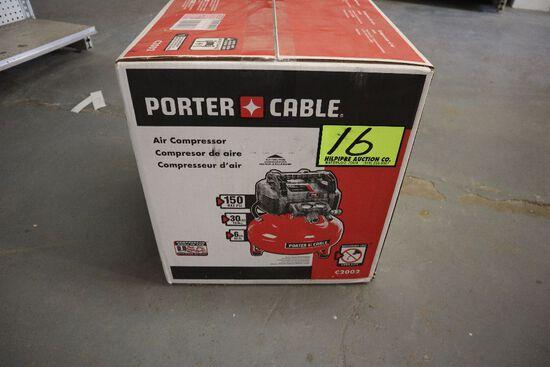 Porter Cable air compressor, 6 gal.