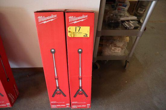 Milwaukee M12 dual power tower lights model 2132-20.