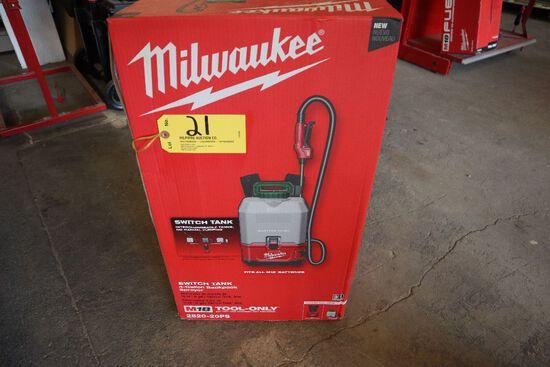 Milwaukee M18, 4 gal. back pack sprayer.