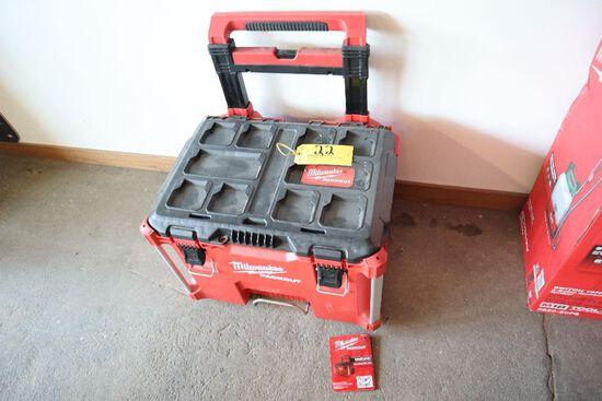 Milwaukee packout hard case tool box.
