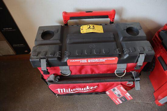 Milwaukee hard top bag, model 8220.