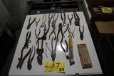 Wrenches, pliers, etc.