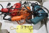 Electric drills, 3/8