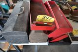 Tool boxes, trays.