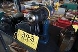 Ryobi 14.4 cordless drill, charger.