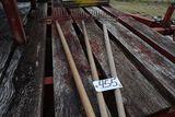 Steel rakes.