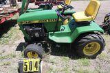 John Deere 317 mower, sn C3171194681M, Kohler 18 power, no deck, hrs. on me
