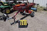 Huskee log splitter, 6 hp, 22 T.