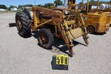 Ford 801 tractor, w/loader, 48