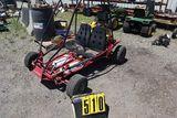 KPY side by side Go Cart 5 hp Briggs.