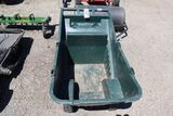 Rubbermaid poly-lawn cart.